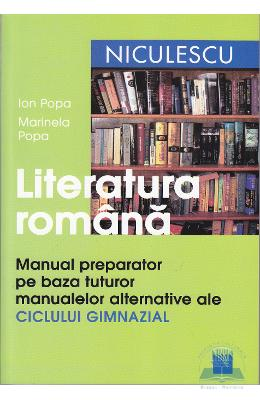 Limba Romana Manual Preparator Gimnaziu Ed.2012 -