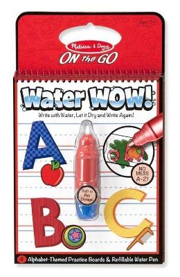 Water Wow! Carnet De Colorat  Apa Magica. Litere