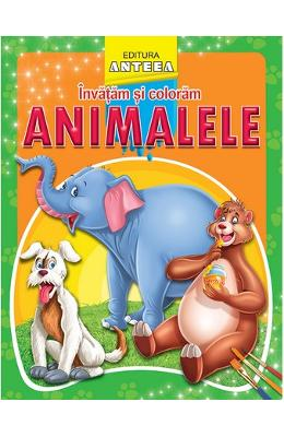 Invatam si coloram animalele