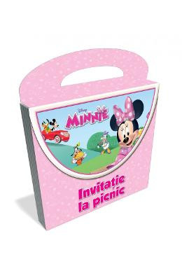Disney Minnie - Invitatie la picnic (picnic)