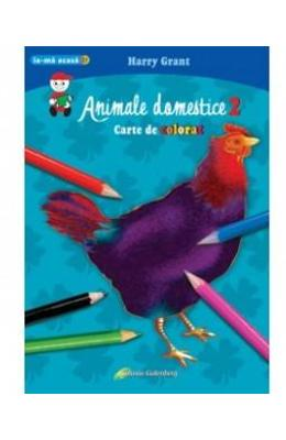 Animale domestice 2 - Carte de colorat A4 - Harry Grant