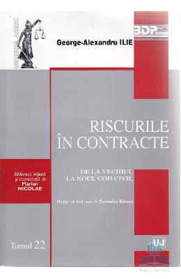 Riscurile in contracte - George-Alexandru Ilie
