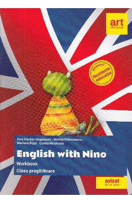 English with Nino Workbook - Clasa Pregatitoare - Amy Fischer Ungureanu imagine