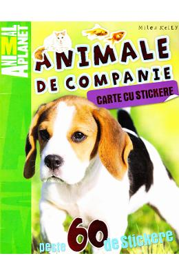Animal Planet, Animale de companie. Carte cu stickere