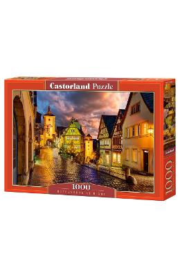 Puzzle 1000 Castorland - Rothenburg At Night