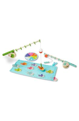 Catch and count fishing game. Joc magnetic de pescuit