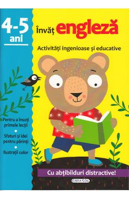 Activitati ingenioase si educative: Invat engleza 4-5 ani