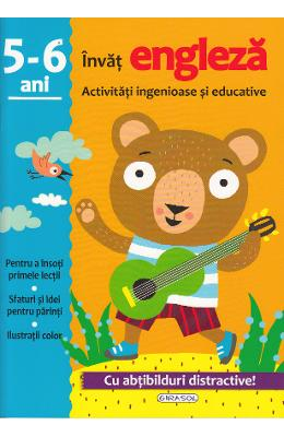 Activitati ingenioase si educative: Invat engleza 5-6 ani