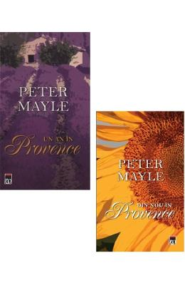 Pachet: Un an in Provence + Din nou in Provence - Peter Mayle