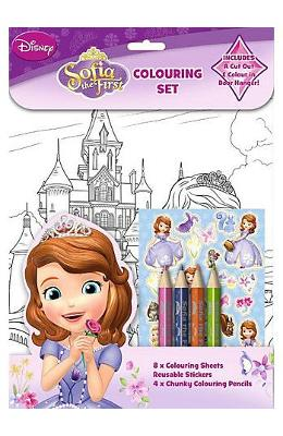 Sofia the First, Colouring set. Trusa de colorat