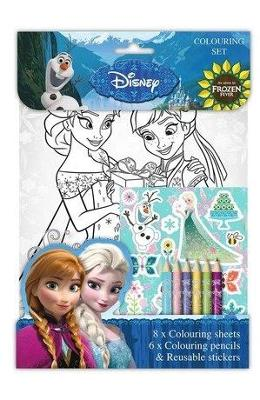 Disney, Colouring set. Set de colorat, Frozen Fever