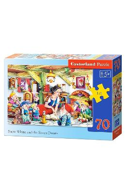 Puzzle 70 Castorland - Snow White And The Seven Dwarfs