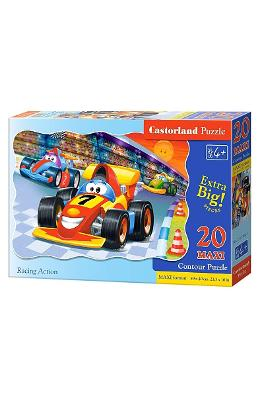 Puzzle 20 Maxi - Racing Action