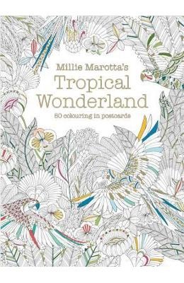 Millie Marottas Tropical Wonderland Postcard Box - Millie Marotta