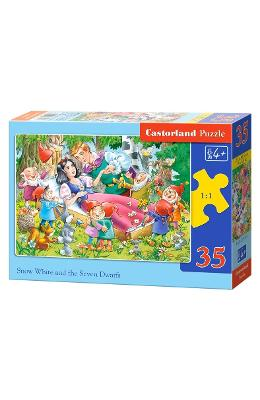 Puzzle 35 Castorland - Snow White And The Seven Dwarfs