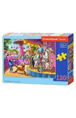Puzzle 120 Castorland - Spinning Carousels