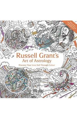 Russell Grant's Art of Astrology. Colouring Book – Russell Grant de la libris.ro