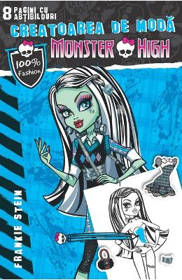 Monster High - Creatoarea de moda: Frankie Stein