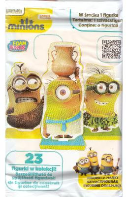 Minions  Foam Buddies. Figurina