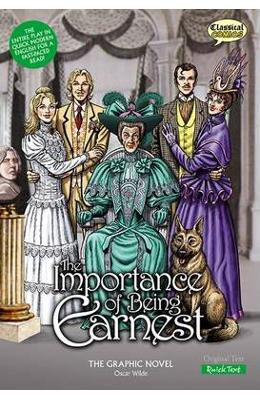 Imagine The Importance Of Being Earnest Graphic Novel: Quick Text - Oscar
