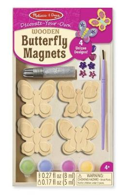 Butterfly Magnets. Set Creatie. Fluturasi Din Lemn