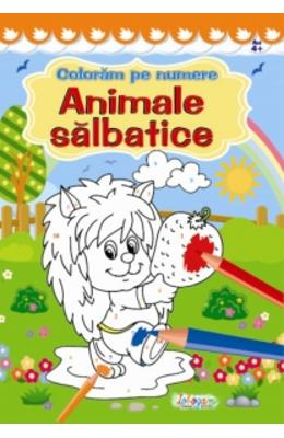 Coloram pe numere: Animale salbatice