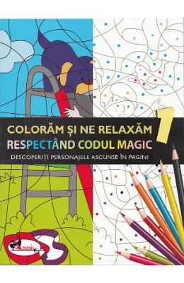 Coloram si ne relaxam respectand codul magic 1