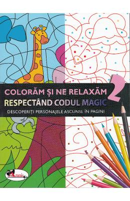 Coloram si ne relaxam respectand codul magic 2