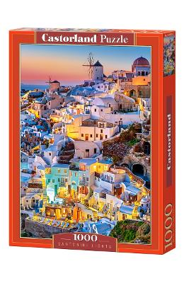 Puzzle 1000. Santorini Lights