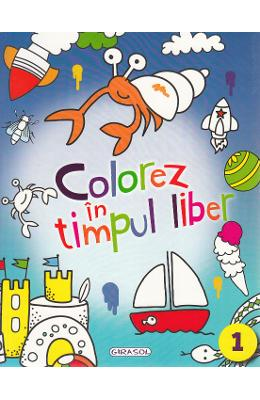 Colorez in timpul liber 1 (bleu)
