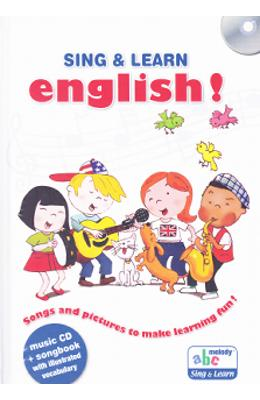 Sing and learn english! + CD