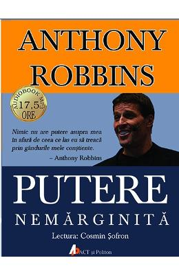 CD Carte Audio Putere nemarginita - Anthony Robbins