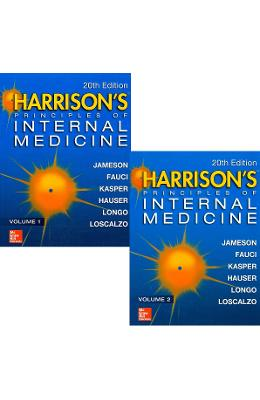 Harrison's Principles of Internal Medicine. Editia 20. Vol.1+2 de la libris.ro