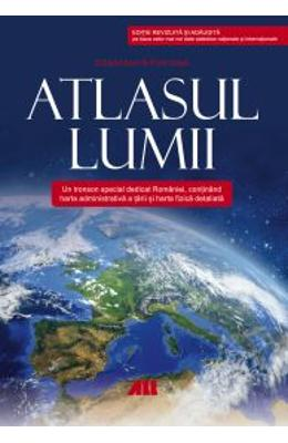Atlasul lumii ed.2 (cartonat) - Constantin Furtuna