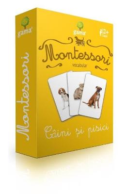 Montessori - Vocabular: Caini si pisici