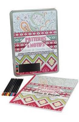Colour Therapy, Patterns and Motifs. Set de lux antistress, Modele si motive
