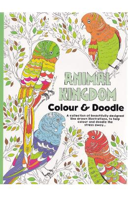 Colour Therapy, Animal Kingdom. Carte de colorat antistress, Regatul animalelor