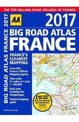 France Big Road Atlas 2017