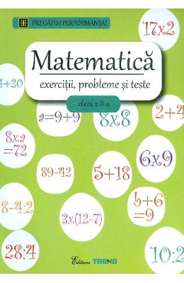 Matematica Cls A 2-a Exercitii  Probleme Si Teste