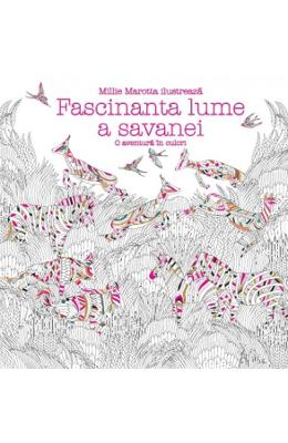 Fascinanta lume a savanei - Millie Marotta imagine