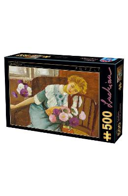 Puzzle 500  Lorica With Chrysanthemums