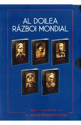 Set: Mari comandanti in al doilea Razboi Mondial (10 volume)