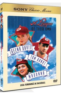 DVD A league of their own - Liga feminina de baseball