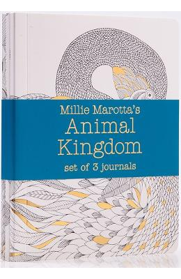 Animal Kingdom - Journal set : 3 Notebooks - Millie Marotta