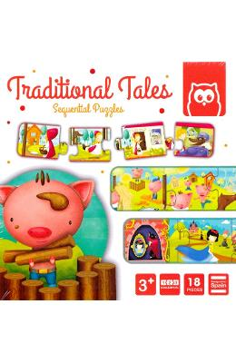 Traditional Tales. Puzzle secvential cu povesti traditionale