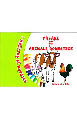 Pasari si animale domestice - Coloram si invatam!