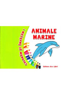 Animale marine - Coloram si invatam!