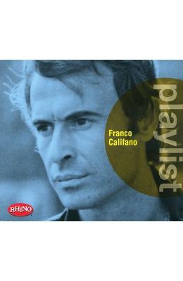 CD Franco Califano - Playlist: Best of
