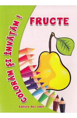 Fructe - Coloram si invatam!