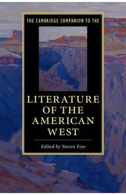 Cambridge Companion to the Literature of the American West